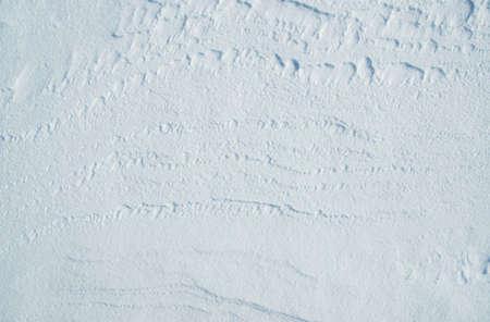 White snow texture or background