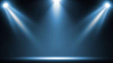 Spotlight. Scene Illumination. Light Effect. Standard-Bild