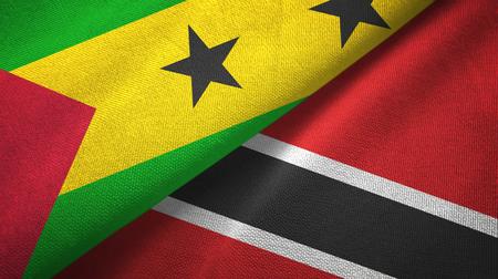 Sao Tome and Principe and Trinidad and Tobago two flags
