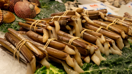 snails food buffet seafood market sticks Banque d'images - 118172061
