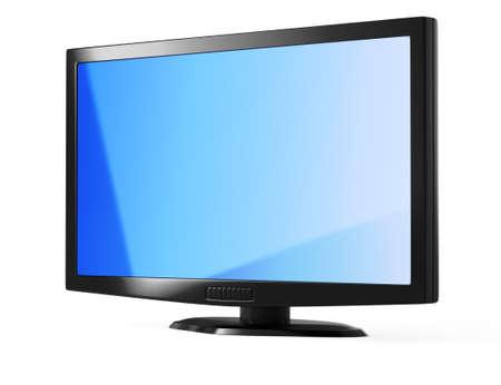 televisor: LED television Stock Photo