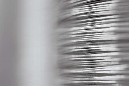 fil de fer: Close-up de fil d'acier Banque d'images