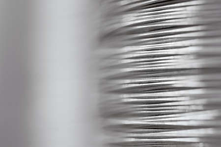Close-up of steel wire Stock Photo