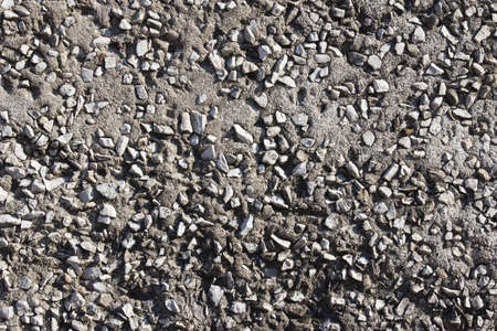Texture of cement with gravel for background Stock Photo