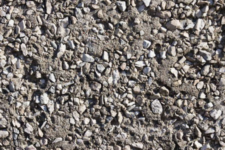 Texture of cement with gravel for background