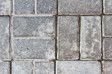 abstract background of gray rectangular paving slabs