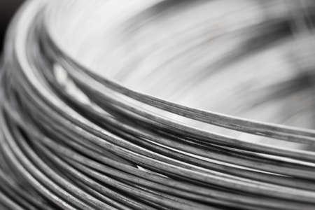 fil de fer: fermer un rouleau de fil d'acier