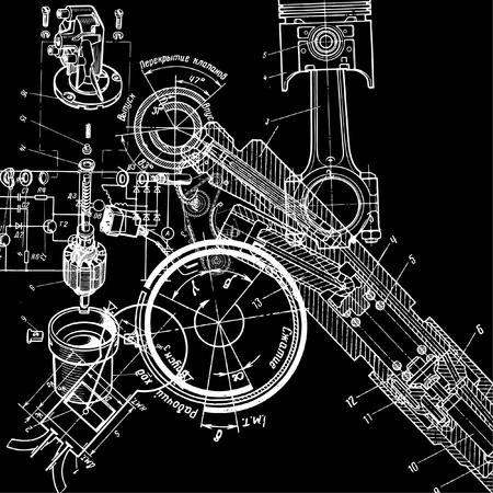 dibujo tecnico: dibujo t�cnico Vectores