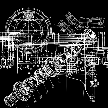 engineering plans: technical drawing