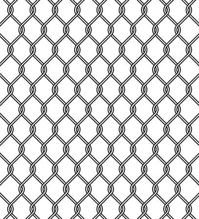 chain link fence texture Stock Vector - 8897353