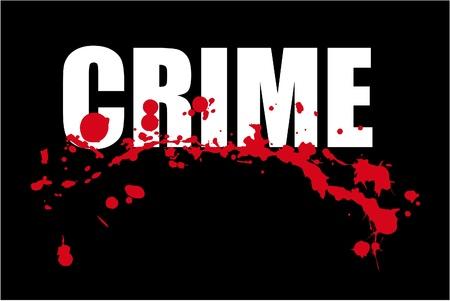 geweer: misdaad Stock Illustratie