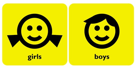 gender signs Illustration