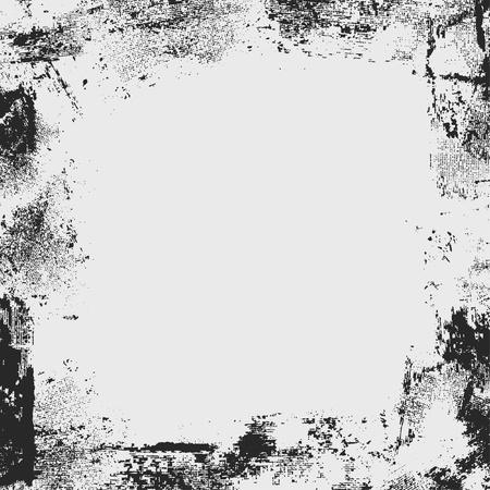 abrasion: grunge frame
