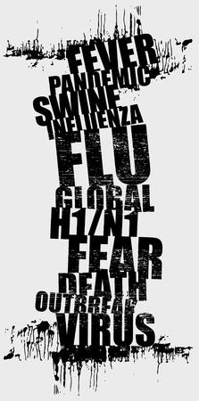 swine flu Stock Vector - 8897377