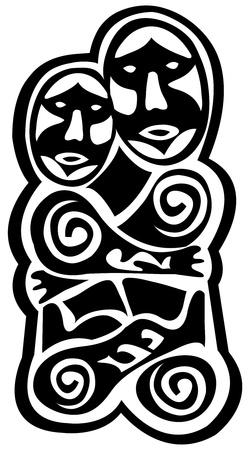 prehistoric art Stock Vector - 8897301