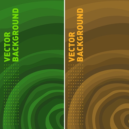 colorful background of vector templates with tree rings
