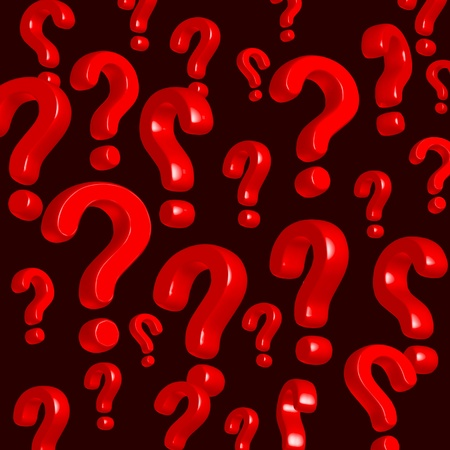 wallpaper of red question marks photo