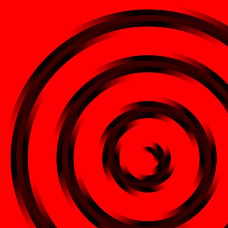 celebrate life: grey spiral sign on red background