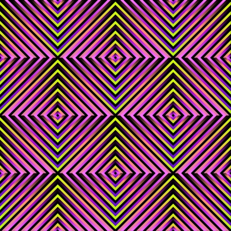 abstract geometric optical seamless pattern Vector