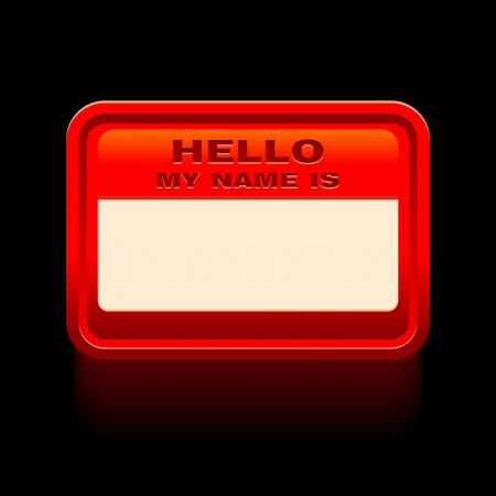hola: hello my name is cardsticker