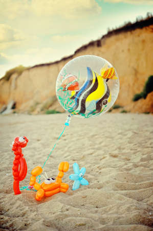 figures from balloons