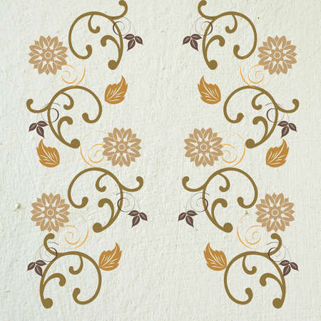 on a light background in shades of brown pattern Stock Photo - 15544294