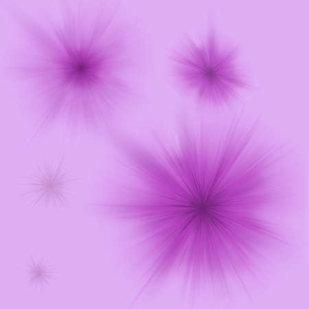purple abstract background with flashes of different sizes Stock Photo - 15781108