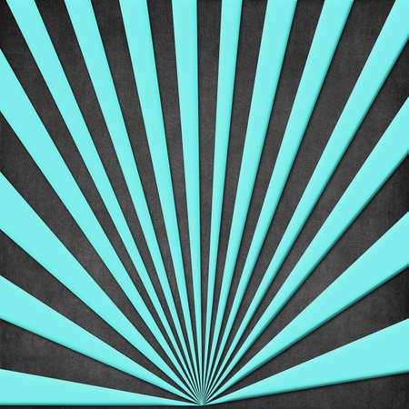 Azure radial beams are against a dark background represented Stock Photo - 17250865