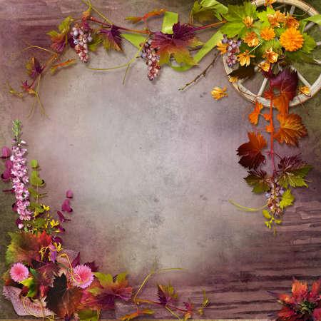 autumn composition Stock fotó - 21786182
