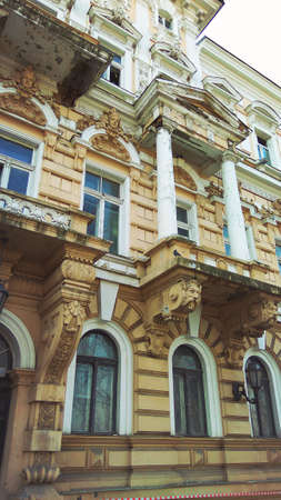eclecticism: Old historical building in baroque style