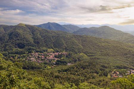Rasa di Varese, fraction of the municipality of Varese, located in the Campo dei Fiori regional park, Italy. Village in the pre-Alps Lombard. In this area, near the village, the river Olona is born
