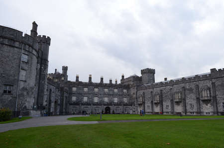 Details of Kilkenny Castle and Its Garden, Ireland