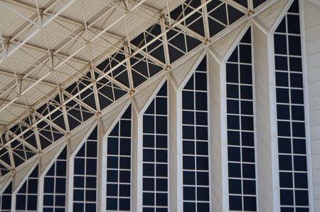 Architecture Pattern Details of Athens Olympic Stadium, Greece Editöryel