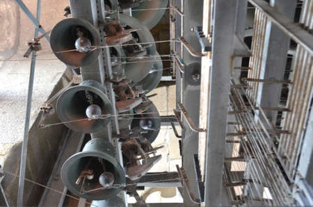 Peal of Bells from Clérigos Church Tower in Porto, Portugal