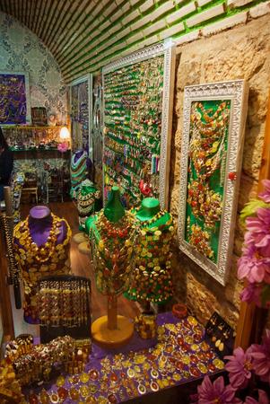 kapalicarsi: Grand bazaar beautiful accessories shops in Istanbul Stock Photo
