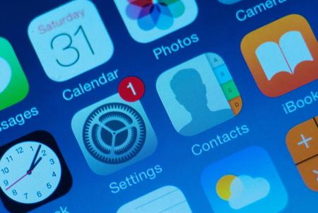 Verschiedenen Smartphone-App Standard-Bild - 47433198