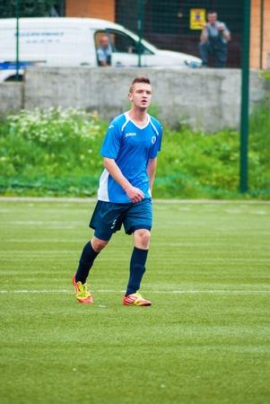 Soccer match. Footbal club Sarajevo VS Zeljeznicar. Sarajevo, Bosnia and Herzegovina. Editorial