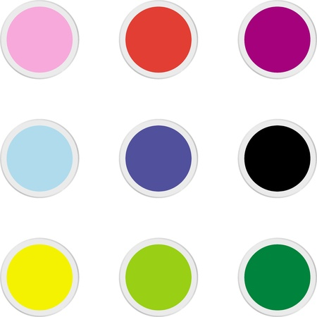 The button for your text Stock Vector - 9576677