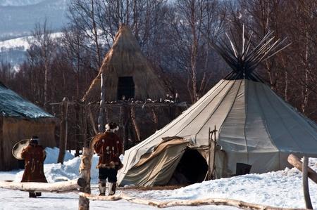 Village of natives
