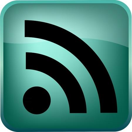 RSS Vector Button Vector