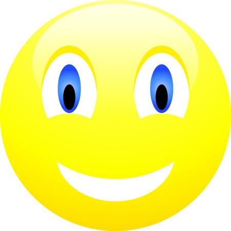 risas: Colecci�n de sonrisas. Ilustraci�n vectorial.