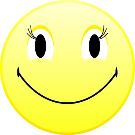 friendliness: Smiley emoticon
