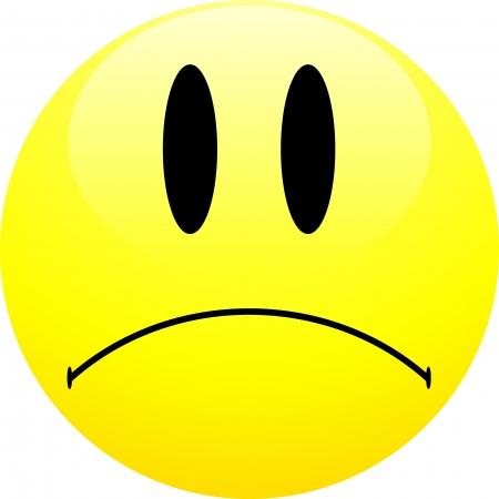 desilusion: Emoticono triste