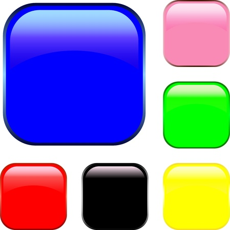 The button for your text Stock Vector - 11345849