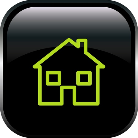 The house button Vector