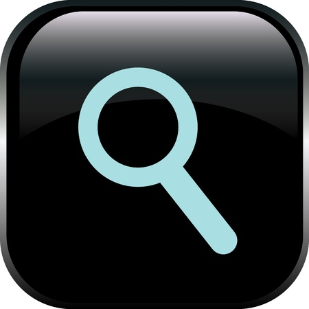 magnification icon: magnifying glass icon