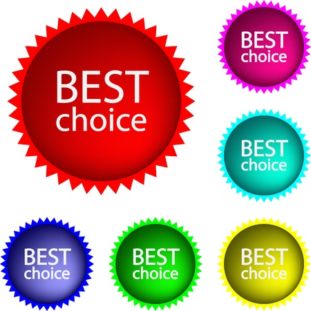 Collection of  glossy buttons Best choice