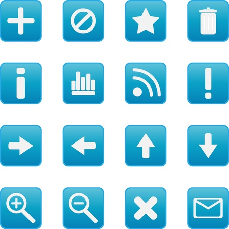 searches: Collection of vector icons Illustration