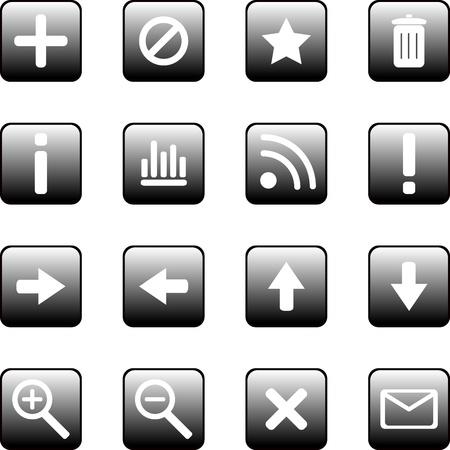 establish: Website elements for web designers Illustration