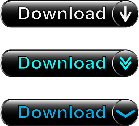button Download for a site and business Vector